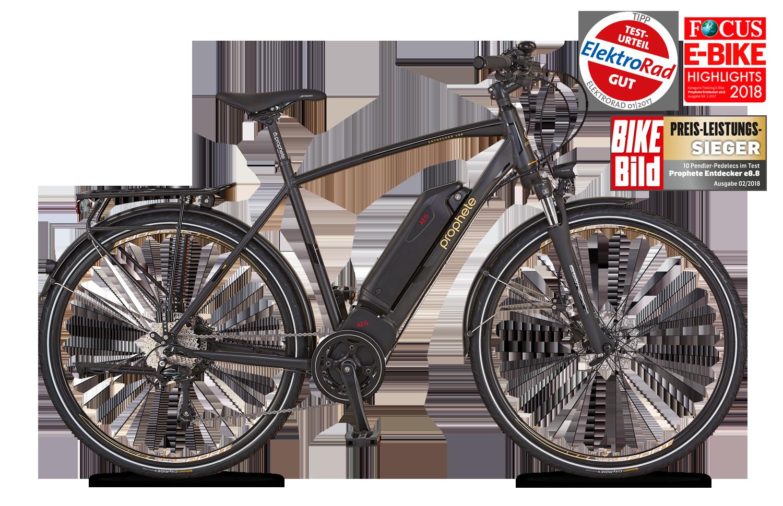 E-Bike & Pedelec in Markenqualität | PROPHETE