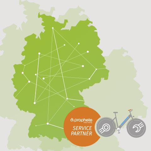 Das Service Netz in Deutschland