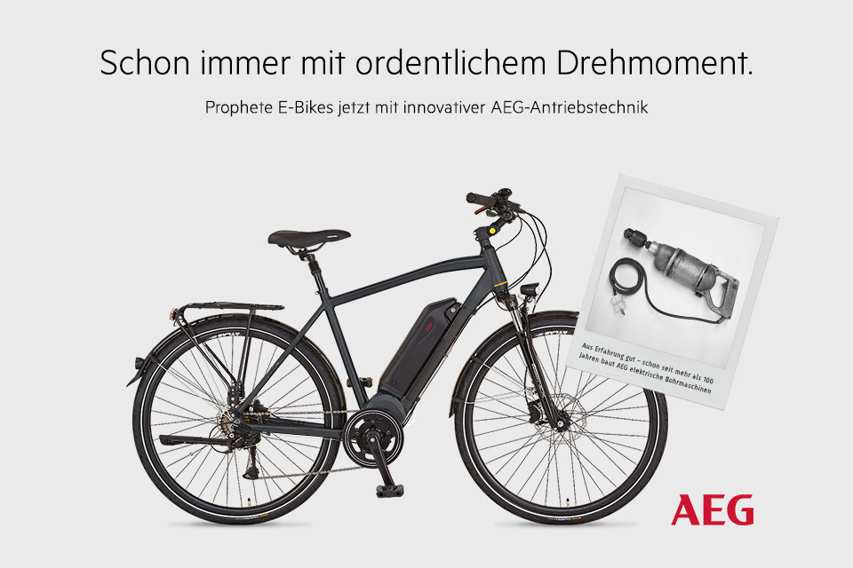fahrrad e bike von prophete das familienfahrrad. Black Bedroom Furniture Sets. Home Design Ideas